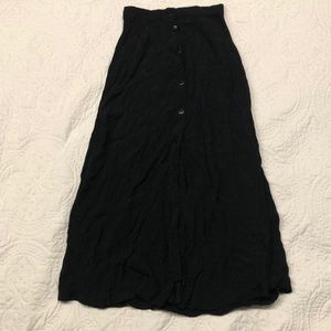 Black NWT long Urban Outfitters skirt
